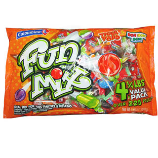 Colombina Fun Mix Candy - 4.25lb