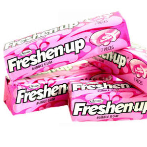 Freshen Up Gum - Bubble Gum 12ct