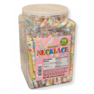 Smarties Candy Necklace - 72ct Tub
