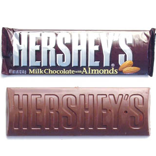 Hershey's Milk Chocolate w/ Almonds - 36ct