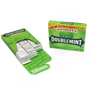Wrigley's Doublemint - 15-Stick Slim Packs 10ct