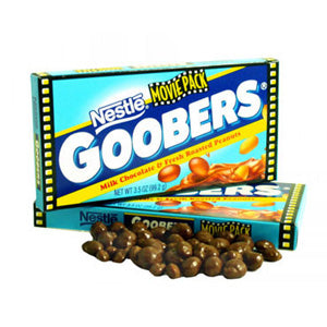 Movie Size Goobers - 3.5oz Box 15ct