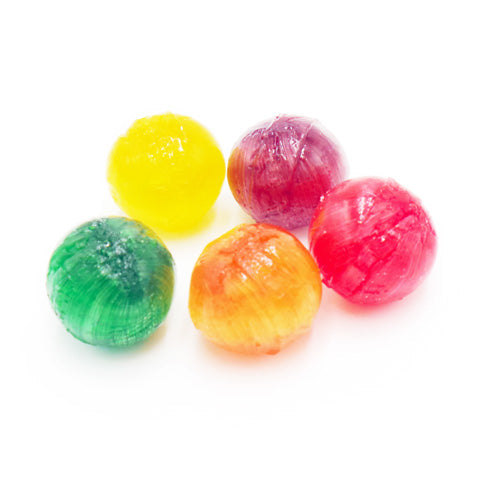 sour fruit balls hard candy