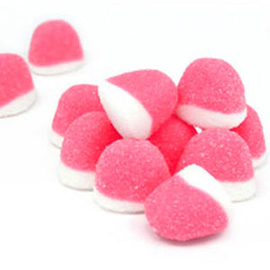 Pink Strawberry Pufflettes Gummy Bites - 5lb