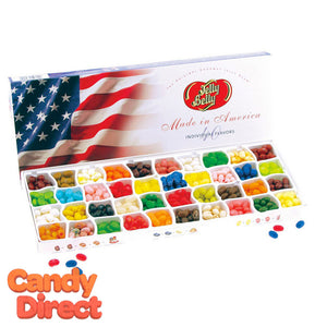 Flag Gift Box Jelly Belly 40-Flavor - 5ct