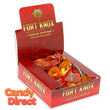 Fort Knox Chocolate Gold Coins - 30ct Box