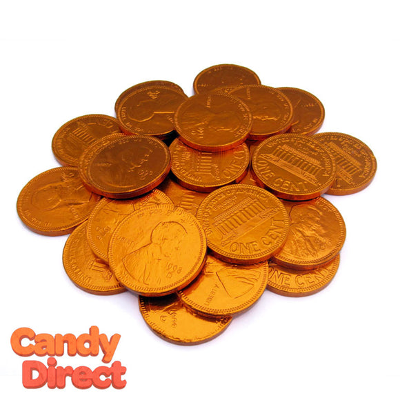 Fort Knox Large Chocolate Pennies - 1lb
