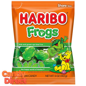 Frogs Haribo Gummi Candy 5oz Bag - 12ct