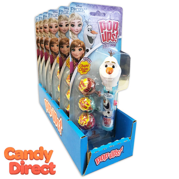 Frozen Olaf Lolli Pop-Ups Toys - 6ct