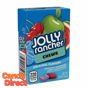 Fruit Chews Jolly Ranchers Packs - 12ct
