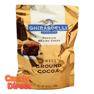 Ghirardelli Baking Cocoa Sweet Ground 10.5oz Pouch - 16ct