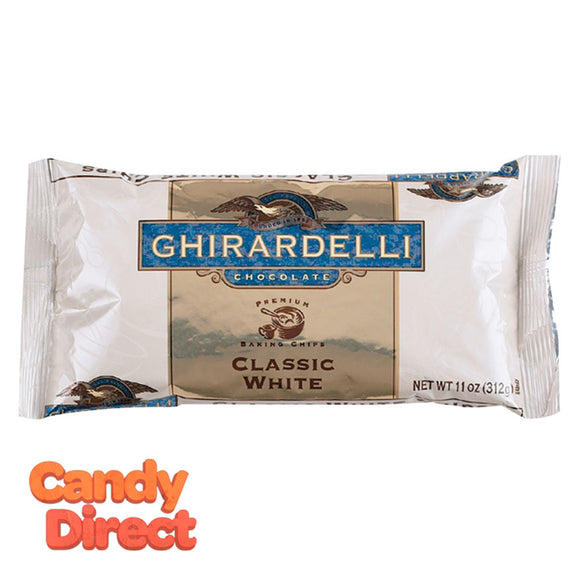 Ghirardelli Chips Classic White Baking 11oz Bag - 12ct
