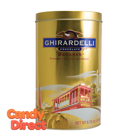Ghirardelli Collection Heritage Gift 8.74oz Tin - 6ct