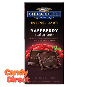 Ghirardelli Intense Dark Raspberry Radiance Bars - 12ct