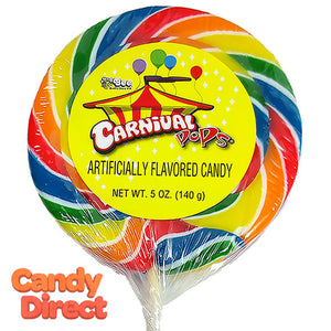 Giant Carnival Lollipop 5oz - 12ct