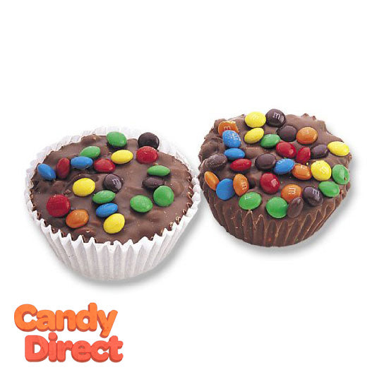 Giant Chocolate Cups with M&M's - 24ct