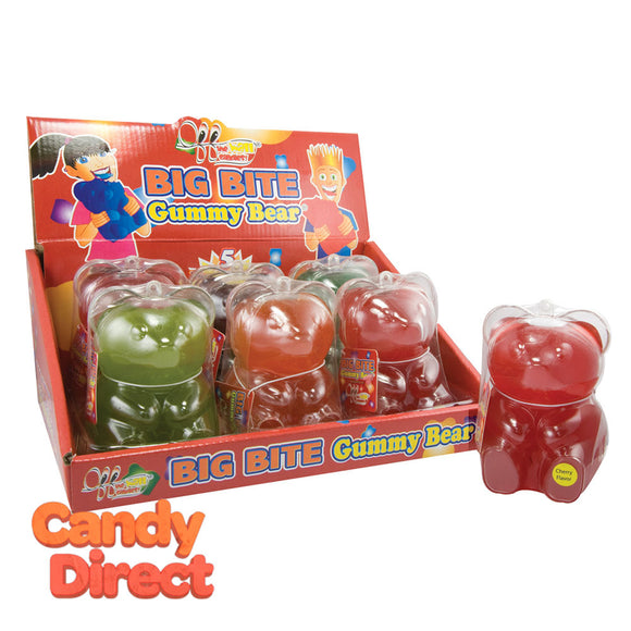 Giant Gummy Bear Big Bite 12oz - 24ct