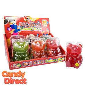 Giant Gummy Bear Big Bite - 6ct