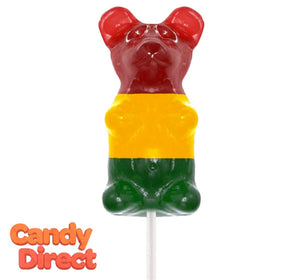 Giant Gummy Bears Classic on a Stick - 12ct