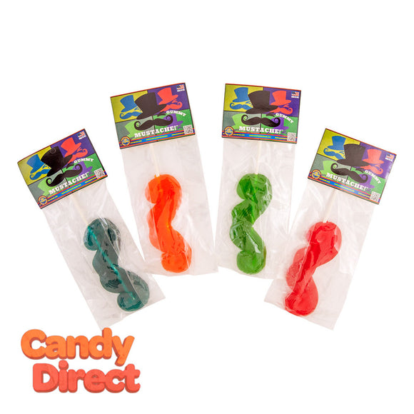 Giant Mustache Gummy 2.7oz - 12ct