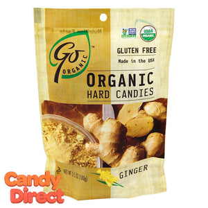 Ginger Organic Hard Candy GoOrganic - 6ct