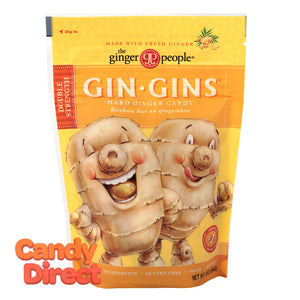 Ginger People Candy Gin Gins Hard 3oz Bag - 12ct