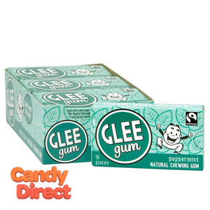 Peppermint Glee Gum - 12ct