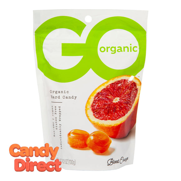 Go Blood Orange Hard Candy Organic 3.5oz Pouch - 6ct