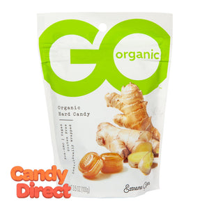 Go Ginger Extreme Hard Candy Organic 3.5oz Pouch - 6ct