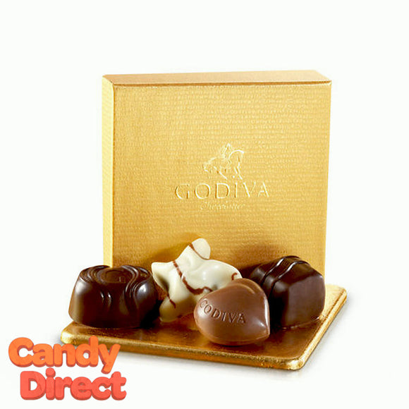 Godiva 4-Piece Gold Gift Box Assorted - 24ct