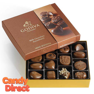 Godiva Gift Box Milk Chocolate 15pc - 12ct