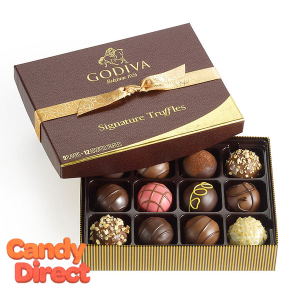 Godiva Gift Box Signature Chocolate Truffles 12pc