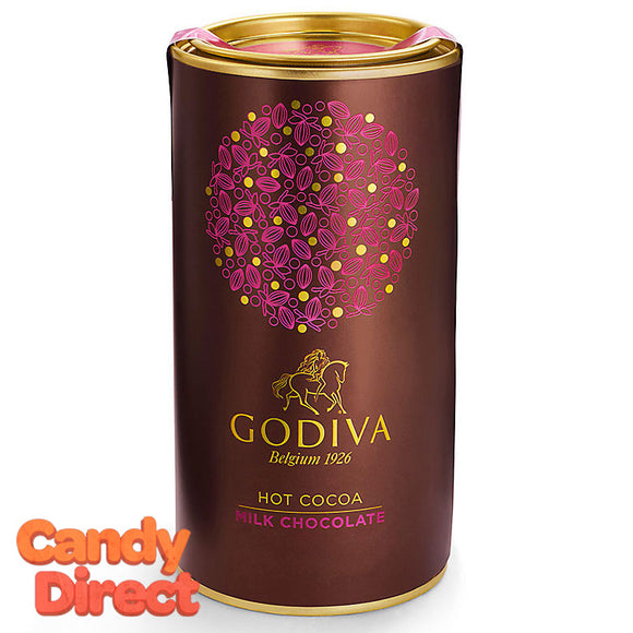 Godiva Milk Chocolate Hot Cocoa 13.1oz Can - 12ct