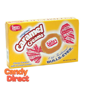 Goetze's Bulls Eyes Caramels - 3oz Theater Boxes 12ct