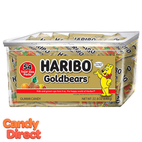 Haribo Gold Bears Tub - 54ct