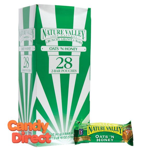 Granola Bar Nature Valley Oats And Honey - 28ct