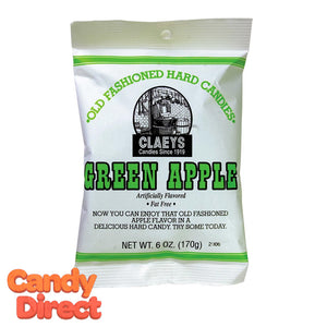 Green Apple Claey's Candy Drops - 24ct Bags