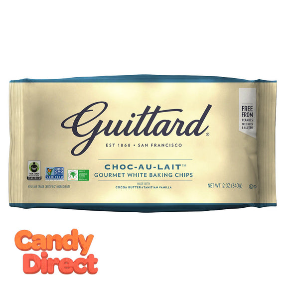 Guittard Baking Chips Choc Au Lait 12oz Bag - 12ct