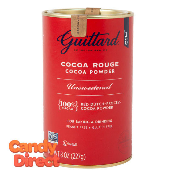 Guittard Cocoa Rouge Tin Unsweetened - 6ct