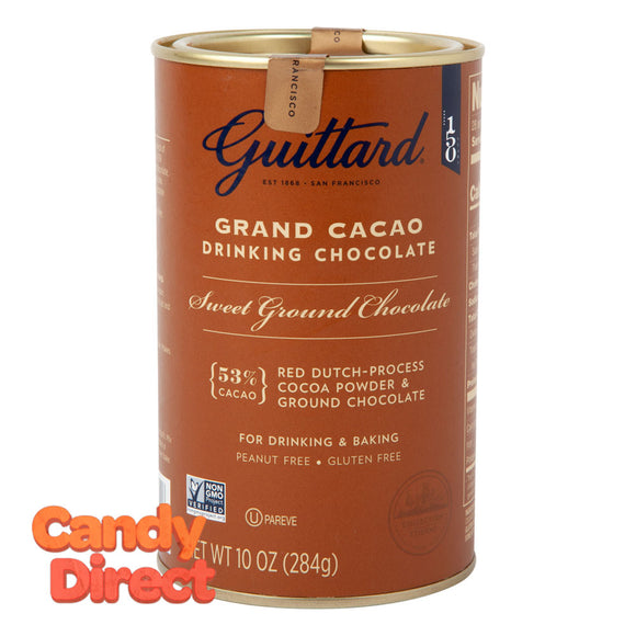 Guittard Grand Cacao Sweetened 10oz Tin - 6ct