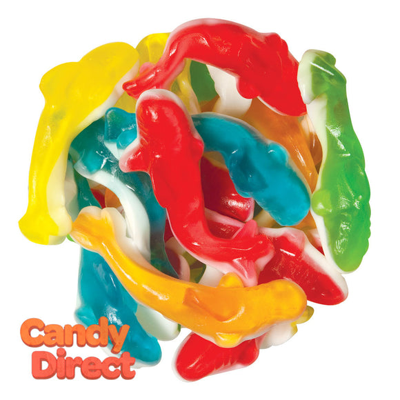 Gummi Sharks Assorted Colors - 5lb