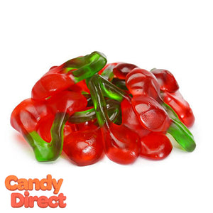 Gummi Twin Cherry Candy - 5lb
