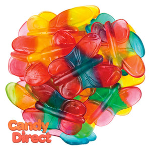 Gummy Butterfly Candies Clever Candy - 6.6b