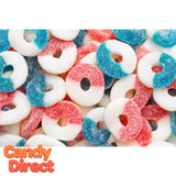 Gummy Freedom Rings Candy - 4.5lb
