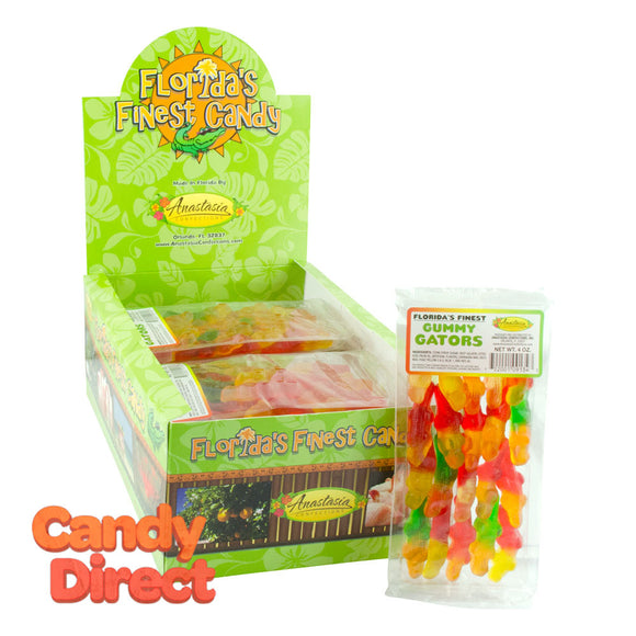 Gummy Gators Anastasia 4oz - 15ct