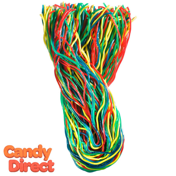 Gustaf's Licorice Laces Rainbow - 2lb