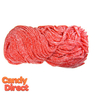 Gustaf's Sour Licorice Laces Strawberry - 2lb