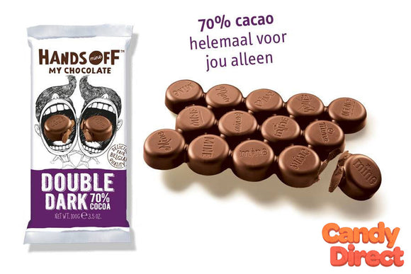 Hands-Off My Chocolate Bars Double Dark - 12ct