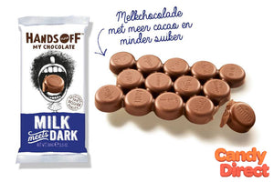 Hands-Off My Chocolate Bars Milk Meets Dark - 12ct