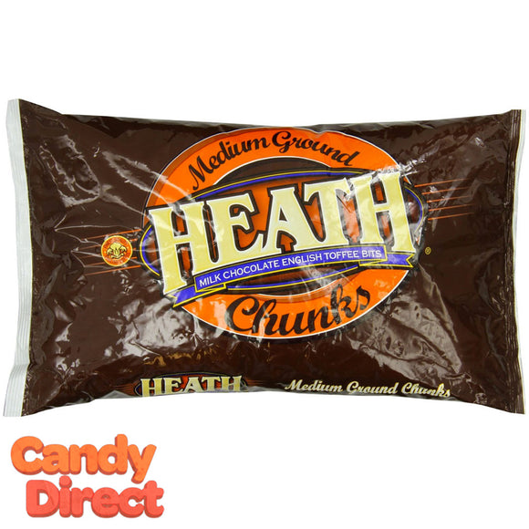 Heath Chunks Medium Ground Toffee Bits - 3lb